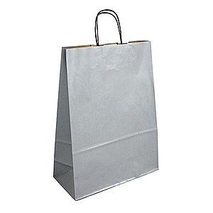 Strieborná darčeková taška vyobraziť