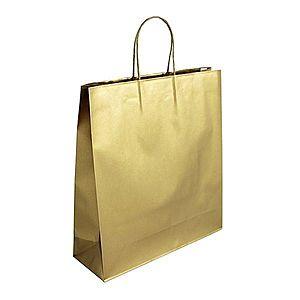 Zlatá luxusná darčeková taška vyobraziť