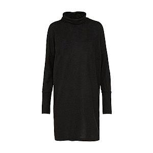 Noisy May Pletené šaty 'NMCITY' čierna vyobraziť