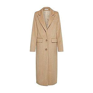 EDITED Zimný kabát 'Danika' béžová / biela vyobraziť