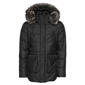 Urban Classics Zimná bunda čierna vyobraziť