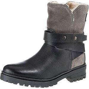 Tommy Jeans Nízke čižmy tmavošedá / čierna vyobraziť