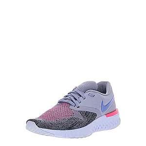 NIKE Bežecká obuv 'Odyssey React Flyknit 2' sivá / ružová / čierna vyobraziť