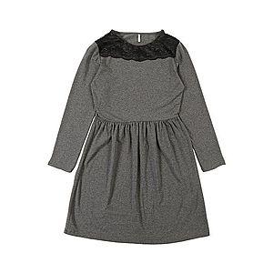 KIDS ONLY Šaty tmavosivá / čierna vyobraziť
