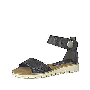 MARCO TOZZI Remienkové sandále čierna vyobraziť