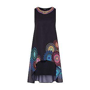 Desigual Šaty 'VEST_PORTIA' zmiešané farby / čierna vyobraziť