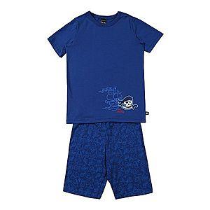 SCHIESSER Pyžamo modré vyobraziť