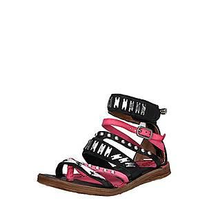 A.S.98 Remienkové sandále 'Ramos' ružová / čierna vyobraziť