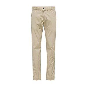 SELECTED HOMME Chino nohavice 'LUKE' béžová vyobraziť