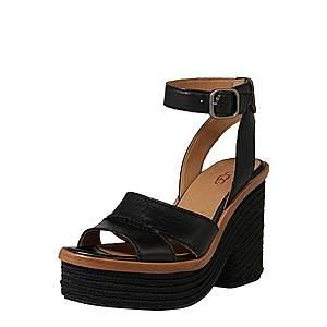 UGG Sandále 'Carine' čierna vyobraziť