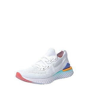 NIKE Bežecká obuv 'Epic React Flyknit 2' modré / oranžová / biela vyobraziť