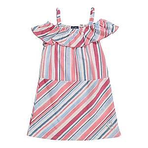 Sanetta Kidswear Šaty svetlomodrá / ružová vyobraziť