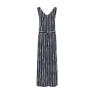 JACQUELINE De YONG Letné šaty 'JDYSTAR S/L MAXI DRESS WVN FS' námornícka modrá / biela vyobraziť