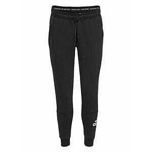 ADIDAS PERFORMANCE Športové nohavice 'W MH Batch of Sport' čierna / biela vyobraziť