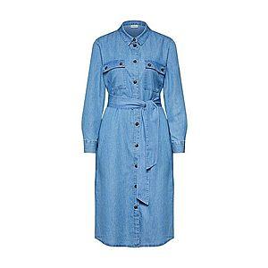 JACQUELINE De YONG Košeľové šaty svetlomodrá vyobraziť