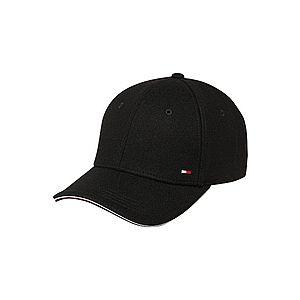 TOMMY HILFIGER Čiapka 'ELEVATED CORPORATE CAP' čierna vyobraziť