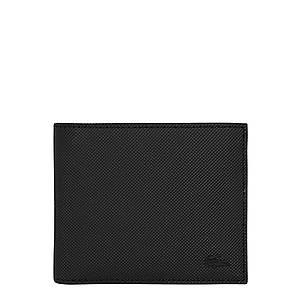 LACOSTE Peňaženka čierna vyobraziť