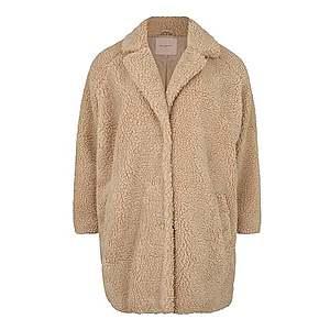 ONLY Carmakoma Prechodný kabát 'AURELIA' béžová vyobraziť