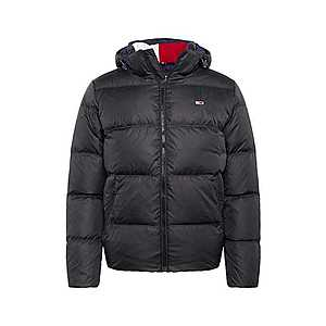 Tommy Jeans Zimná bunda čierna vyobraziť