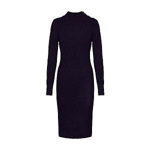 OBJECT Pletené šaty čierna vyobraziť