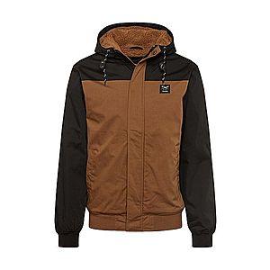 Iriedaily Zimná bunda hnedé / čierna vyobraziť