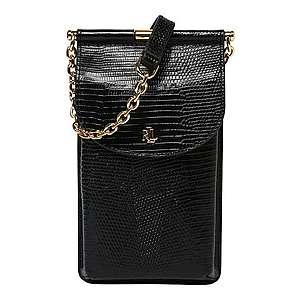 Lauren Ralph Lauren Taška cez rameno 'phone bag-mini' čierna vyobraziť