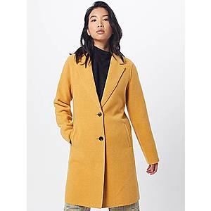 ONLY Prechodný kabát 'CARRIE BONDED COAT' zlatá žltá vyobraziť
