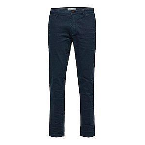 SELECTED HOMME Chino nohavice tmavomodrá vyobraziť