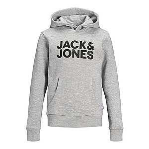 Jack & Jones Junior Mikina sivá melírovaná vyobraziť