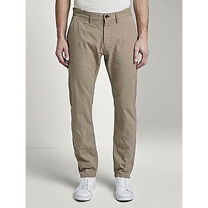 Béžové pánske chino nohavice Tom Tailor vyobraziť