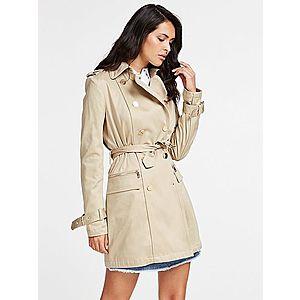 GUESS Prechodný kabát béžová vyobraziť