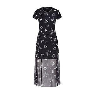 Desigual Šaty 'AUSTIN' čierna / biela vyobraziť
