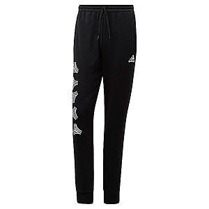 ADIDAS PERFORMANCE Športové nohavice biela / čierna vyobraziť