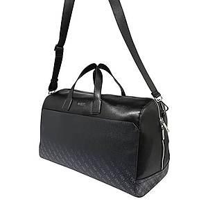 GUESS Víkendová taška 'Dan' čierna / sivá vyobraziť