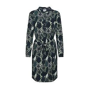 JACQUELINE De YONG Košeľové šaty 'MILO' čierna vyobraziť