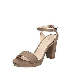 ABOUT YOU Remienkové sandále 'Christin' tmavošedá vyobraziť
