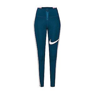 NIKE Športové nohavice 'Power' biela / tmavomodrá / ružová vyobraziť