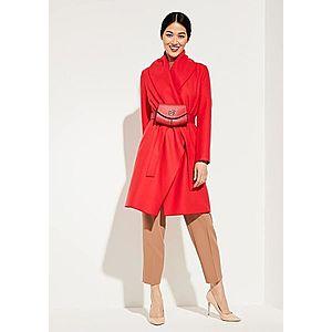 COMMA Zimný kabát červené vyobraziť