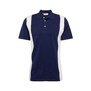 Casual Friday Tričko 'CFTITUS' biela / námornícka modrá vyobraziť