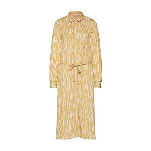 Soft Rebels Košeľové šaty 'Blaze' žlté vyobraziť