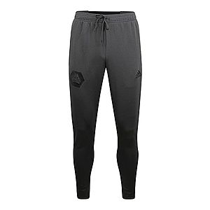 ADIDAS PERFORMANCE Športové nohavice tmavosivá vyobraziť