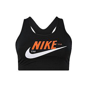 NIKE Športová podprsenka 'Nike Swoosh' čierna vyobraziť