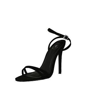 Missguided Sandále čierna vyobraziť