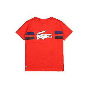 LACOSTE Tričko červené vyobraziť