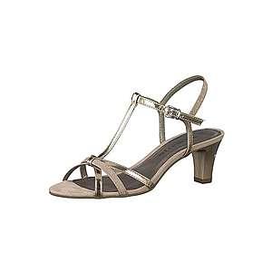 TAMARIS Remienkové sandále zlatá / béžová vyobraziť