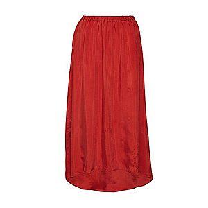 AMERICAN VINTAGE Sukňa hrdzavo červená vyobraziť