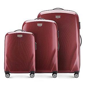 Sada cestovných kufrov. vyobraziť
