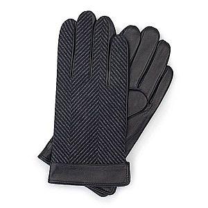 Elegantné kožené rukavice. vyobraziť