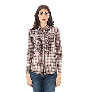Fred Perry dámska košeľa Farba: ružová, Veľkosť: L vyobraziť