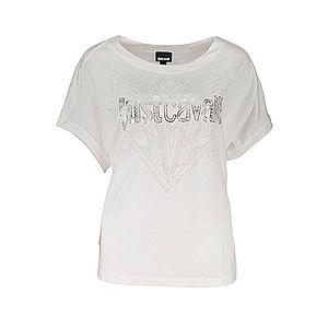 Just Cavalli dámske tričko Farba: Biela, Veľkosť: L vyobraziť